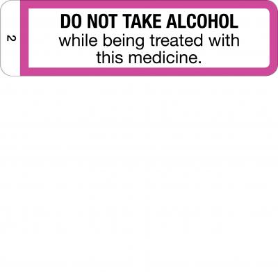 Do Not Take Alcohol - CAL