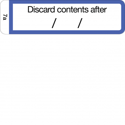 Discard contents after - CAL