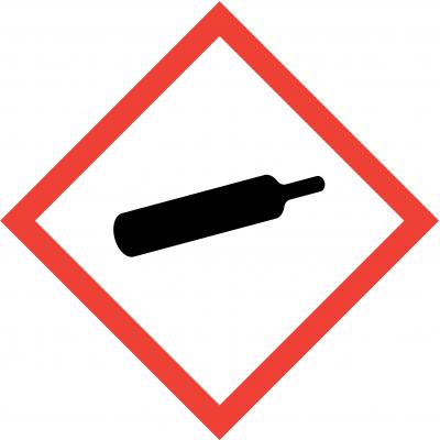 Gases Under Pressure Labels