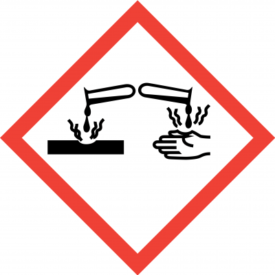 Corrosive Labels