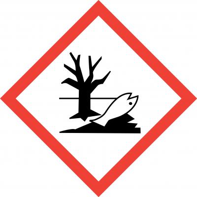 Enviromental Hazard Labels