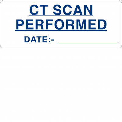 CT scan performed