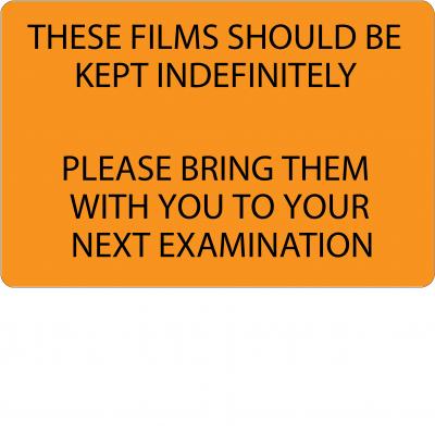 These films should be kept indefinately