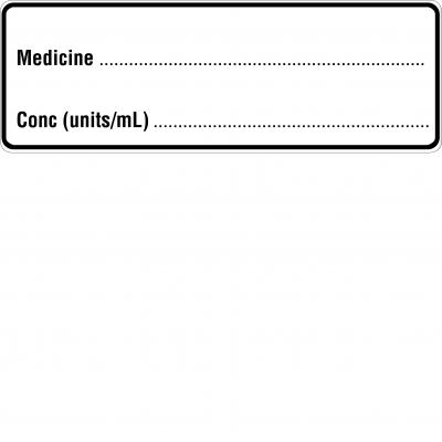 Medicine (Removeable)