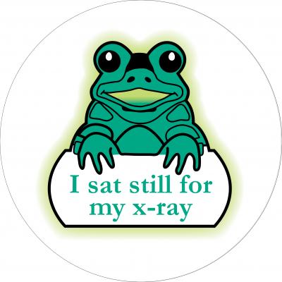 I sat still for my x-ray