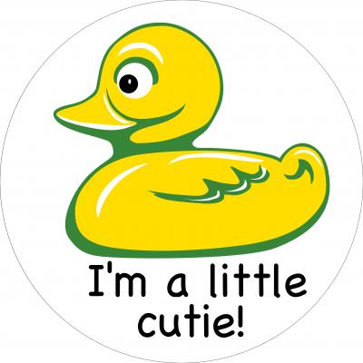 I'm a little cutie!