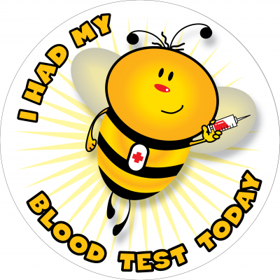 I had my blood test today