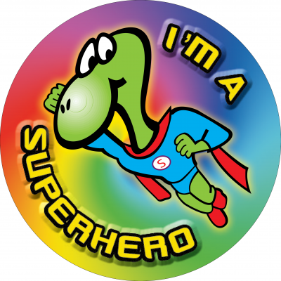 I'm a superhero