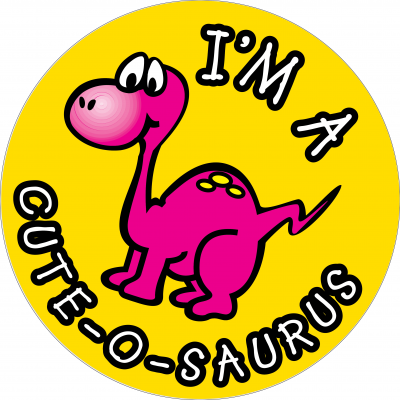 I'm a cute-o-saurus