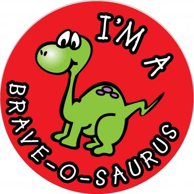 I'm a brave-o-saurus