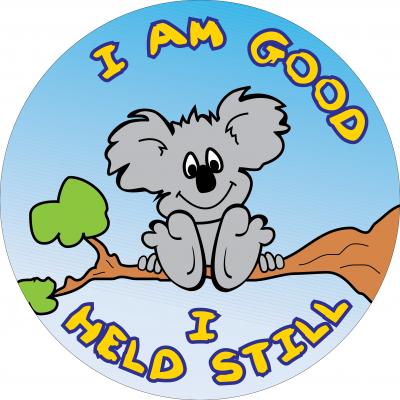 I am good, I held still