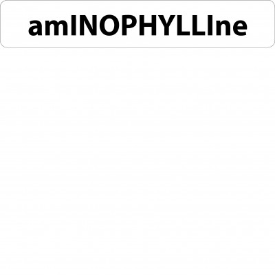 Aminophylline Infusion Line Label