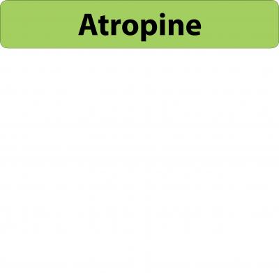 Atropine Infusion Line