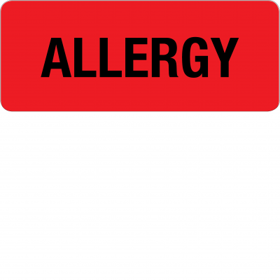 Adverse Drug Reaction & Allergy Labels