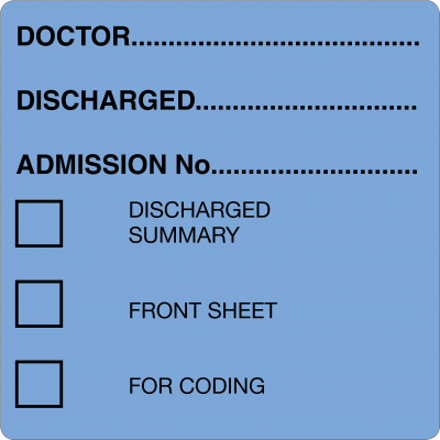 Discharged (Blue)