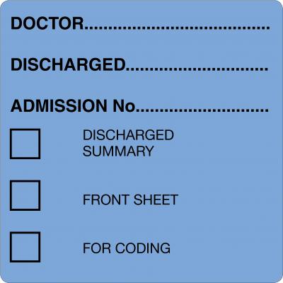 Discharge Labels