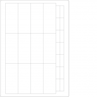 Laser Sheets - 26 Labels per Sheet - Normal Edge