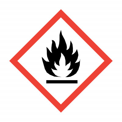 GHS - Flammability - 15 x 15mm