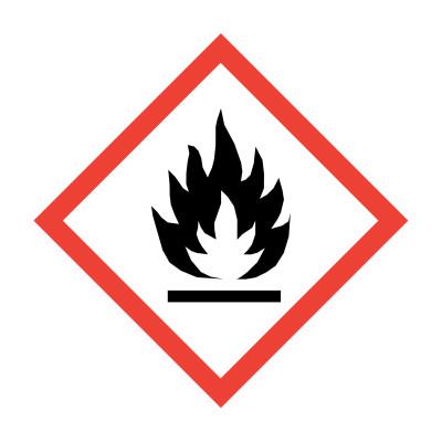 GHS - Flammability - 15 x 15mm