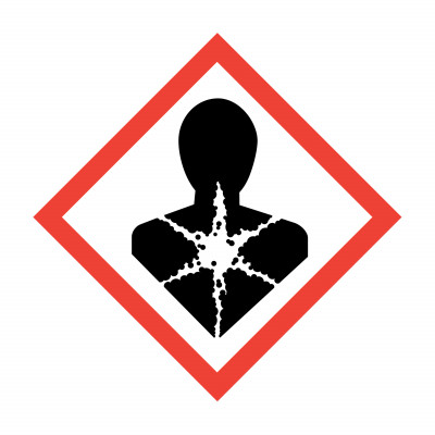 GHS - Chronic Health Hazard - 50 x 50mm