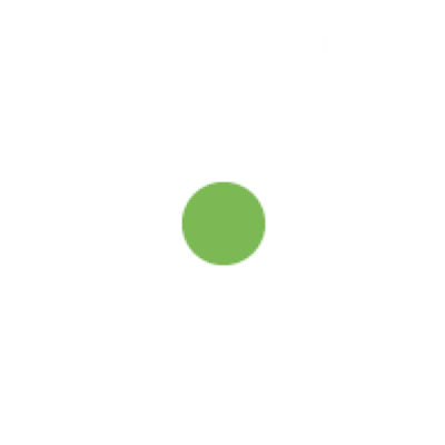 Fluoro green circle