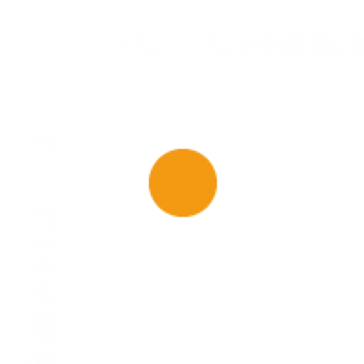 Fluoro orange circle
