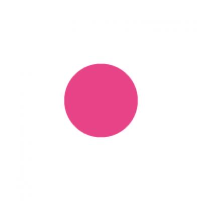 Fluoro pink circle