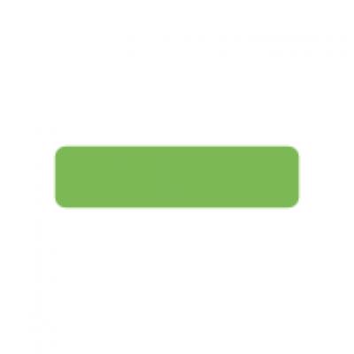 Fluoro green rectangle