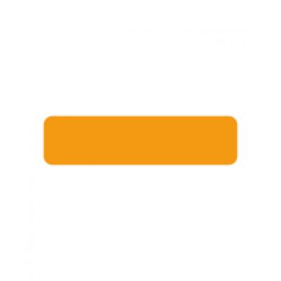 Fluoro orange rectangle