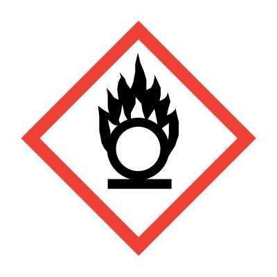 GHS - Oxidising - 15 x 15mm